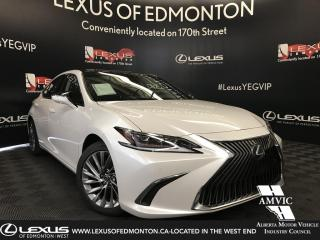 New 2019 Lexus ES 350 Ultra Luxury Package for sale in Edmonton, AB