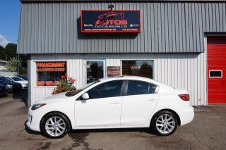 Used 2012 Mazda MAZDA3 Gs-Sky Aut Cuir Toit for sale in Lévis, QC