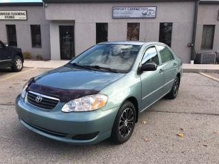 Used 2005 Toyota Corolla CERTIFIED,NO ACCIDENTS,ALLOY RIMS ! for sale in Burlington, ON