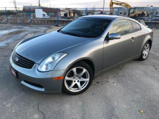Used 2007 Infiniti G35 ***IMMACULATE CONDITION!*** for sale in BRAMPTON, ON