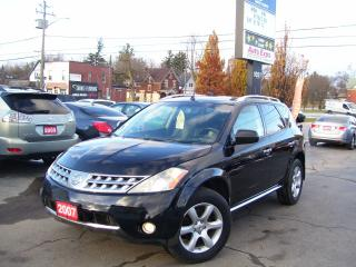 Used 2007 Nissan Murano SE,4X4,AUTO,A/C,LEATHER,NO ACCIDENT for sale in Kitchener, ON