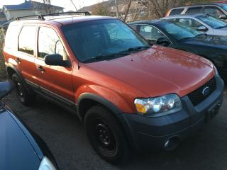 Used 2007 Ford Escape XLT/4X4/NO RUST/NEW TIRES for sale in Scarborough, ON