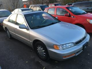 Used 1997 Honda Accord EX-R/ LEATHER/ SUNROOF/ ALLOYS for sale in Scarborough, ON