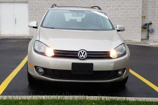 Used 2012 Volkswagen Golf Wagon CERTIFIED Highline LEATHER for sale in Mississauga, ON