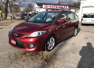 Used 2009 Mazda MAZDA5 GT/Certified/Automatic/Leather/Roof/Heated Seats for sale in Scarborough, ON