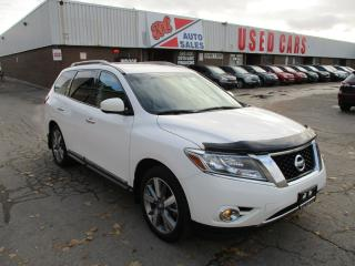 Used 2013 Nissan Pathfinder Platinum~NAVI.~360' CAM.~7 PASS.~CERTIFIED for sale in Toronto, ON