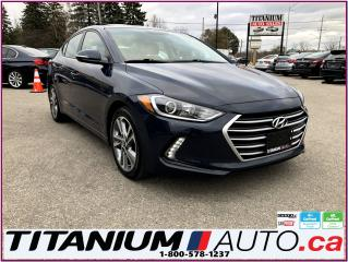Used 2017 Hyundai Elantra GLS-Camera-Sunroof-Blind Spot & Cross-Apple Play-- for sale in London, ON