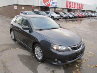 Used 2009 Subaru Impreza 2.5i w/Sport Pkg~SUNROOF~HEATED SEATS~CERTIFIED for sale in Toronto, ON