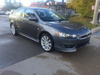 Used 2009 Mitsubishi Lancer GTS,AUTO,116KM,S/R,SAFETY+3YEARS WARRANTY INCLUDED for sale in Toronto, ON