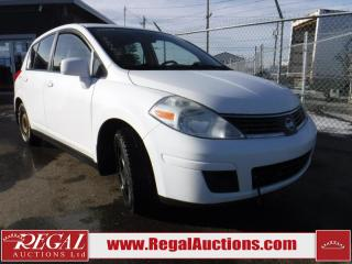 Used 2009 Nissan Versa 4D Hatchback for sale in Calgary, AB