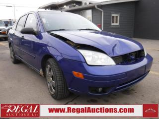 Used 2005 Ford FOCUS ZX4 S 4D SEDAN for sale in Calgary, AB