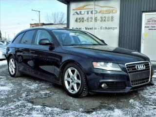 Used 2009 Audi A4 ***WAGON,CUIR,TOIT PANO*** for sale in Longueuil, QC