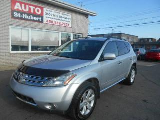Used 2006 Nissan Murano SL AWD ** POUR PIECES OU ROUTE ** for sale in St-Hubert, QC