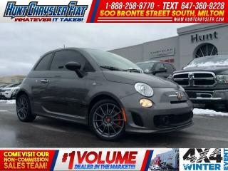 Used 2013 Fiat 500 ABARTH/LEAHTER/HTD STS/SUN/BLACKOUT!!! for sale in Milton, ON