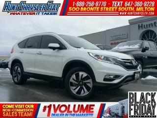 Used 2015 Honda CR-V TOURING/CAM/LEATHER/NAV/ADAPTIVE/AWD & MORE!!! for sale in Milton, ON