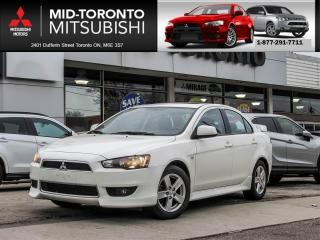 Used 2014 Mitsubishi Lancer SE LTD Sunroof|Alloys|One Owner for sale in North York, ON