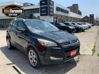 Used 2015 Ford Escape Titanium | 4WD | 301A PKG | No Accidents | Tech Pkg | Auto Parking | HighWay Driven for sale in North York, ON
