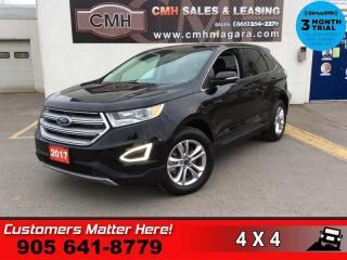 Used 2017 Ford Edge SEL  AWD NAV ROOF LEATH CAM PARK-SENS 2X-P/SEATS BT for sale in St. Catharines, ON