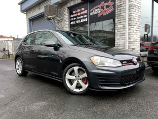 Used 2015 Volkswagen Golf GTI Voiture à hayon, 3 portes, boîte manuell for sale in Longueuil, QC