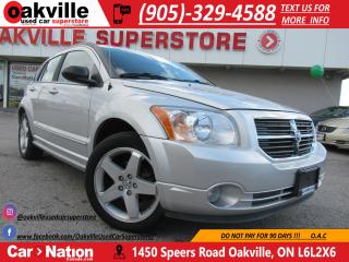 Used 2007 Dodge Caliber R/T AWD | SUNROOF | HEATED SEATS | for sale in Oakville, ON