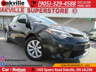 Used 2014 Toyota Corolla LE | B/U CAM | HEATED SEATS | BLUETOOTH for sale in Oakville, ON