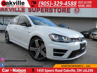 Used 2016 Volkswagen Golf R 2.0 R 292 HP | LEATHER | NAVI | B/U CAM for sale in Oakville, ON