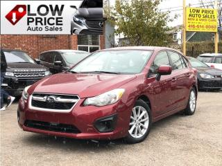 Used 2014 Subaru Impreza TouringPkg*Camera*HtdSeats*Alloys*Warranty for sale in Toronto, ON