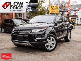 Used 2014 Land Rover Evoque *PanoramicRoof*HtdSeats*Camera*Bluetooth* for sale in Toronto, ON