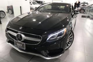 Used 2017 Mercedes-Benz S550 4MATIC Coupe for sale in Newmarket, ON