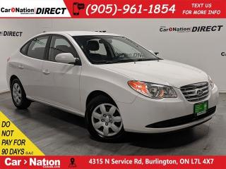 Used 2010 Hyundai Elantra GL| LOCAL TRADE| LOW KM'S| HEATED SEATS| for sale in Burlington, ON