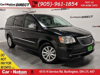 Used 2016 Chrysler Town & Country Limited| LEATHER| SUNROOF| NAVI| DUAL DVD| for sale in Burlington, ON