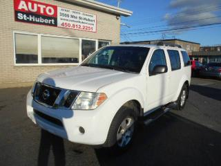 Used 2008 Nissan Pathfinder S ** 7 PASS / DVD ** for sale in St-Hubert, QC