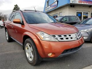 Used 2005 Nissan Murano SL - Moonroof - Full - Mag - Un proprio for sale in Longueuil, QC