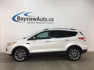 Used 2015 Ford Escape - KEYPAD! SYNC! ECOBOOST! REVERSE CAM! HTD SEATS! for sale in Belleville, ON