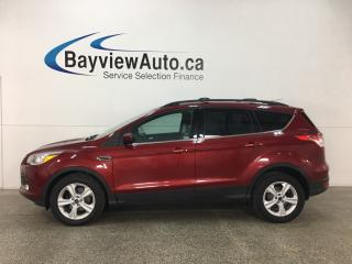 Used 2016 Ford Escape - SYNC! HITCH! REVERSE CAM! CRUISE! HTD SEATS! for sale in Belleville, ON