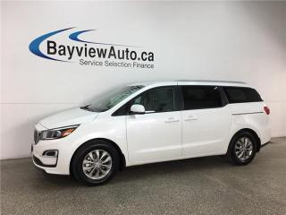 Used 2019 Kia Sedona LX - 8 PASS! REVERSE CAM!  HTD SEATS! BLUETOOTH! PWR GROUP! for sale in Belleville, ON