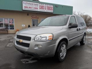 Used 2008 Chevrolet Uplander LS AS IS for sale in Bolton, ON