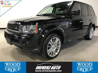 Used 2011 Land Rover Range Rover Sport HSE ACCIDENT FREE,SUNROOF, AIR SUSPENSION, HEATED STEERING WHEEL for sale in Calgary, AB