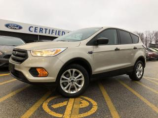 Used 2017 Ford Escape S for sale in Barrie, ON