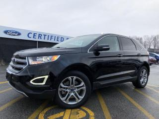 Used 2018 Ford Edge Titanium AWD|NAVIGATION|PANORAMIC ROOF|LEATHER for sale in Barrie, ON