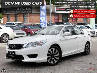 Used 2015 Honda Accord Hybrid Touring ACCIDENT FREE! ONE OWNER! FULLY LOADED for sale in Scarborough, ON