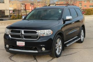 Used 2011 Dodge Durango Crew Plus 7 Passenger | NAVI | DVD | CERTIFIED for sale in Waterloo, ON