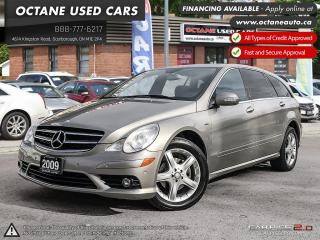 Used 2009 Mercedes-Benz R-Class ACCIDENT FREE! NAVI! BACK UP CAMERA! for sale in Scarborough, ON