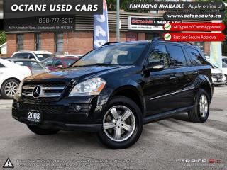 Used 2008 Mercedes-Benz GL-Class NAVI! BACK UP CAMERA! REAR DVD!  7 PASSENGER for sale in Scarborough, ON