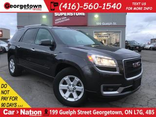 Used 2015 GMC Acadia SLE1 56,726KMS | 8 PASS | AWD | BU CAM | LIKE NEW for sale in Georgetown, ON