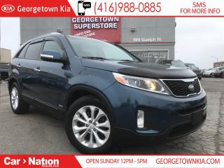 Used 2015 Kia Sorento EX V6 | PANORMAIC SUNROOF | ONE OWNER | for sale in Georgetown, ON