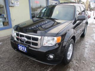 Used 2012 Ford Escape FUEL EFFICIENT XLT MODEL 5 PASSENGER 2.5L - DOHC.. CD/AUX/USB INPUT.. BLUETOOTH SYSTEM.. KEYLESS ENTRY.. for sale in Bradford, ON