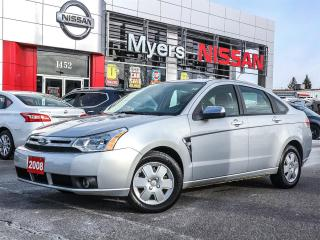 Used 2008 Ford Focus SES power locks, Bluetooth, CD player, air conditioning, heated seats for sale in Orleans, ON