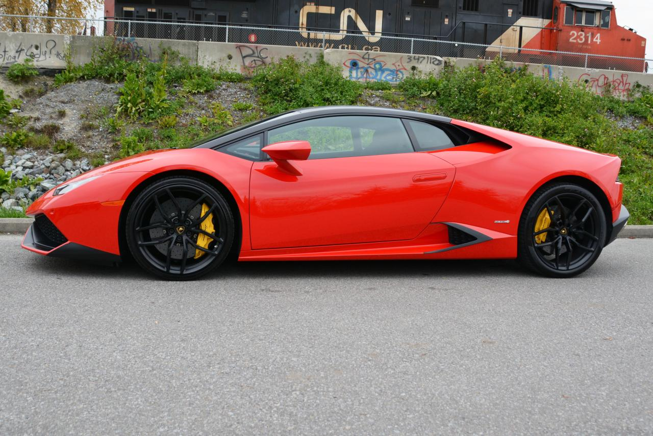 Used 2015 Lamborghini Huracan Lp610 4 Coupe For Sale In Vancouver