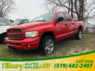Used 2004 Dodge Ram 1500 ST **AS IS** 5.7 L HEMI, 4x4. for sale in Tilbury, ON